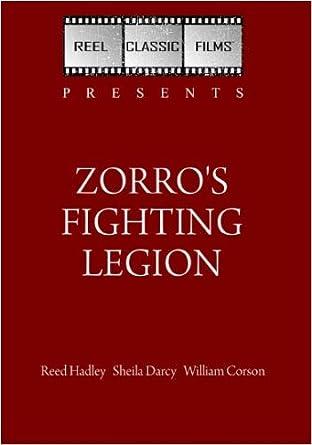 Amazoncom Zorros Fighting Legion 1939 Reed Hadley Sheila