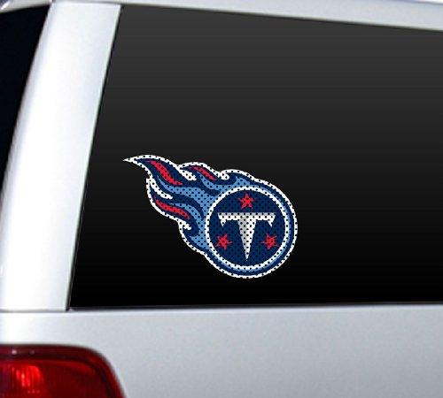 Fremont Die NFL Tennessee Titans Die Cut Window (Titans Die Cut Decal)