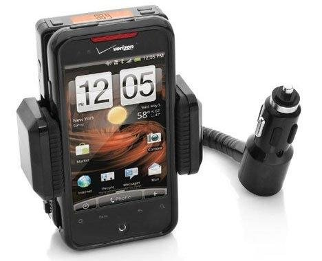 iClever Wireless FM Transmitter Hands-free Car Kit Adapter Charger for iPhone iPod