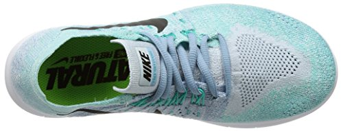 chlorine Donna 2017 Da Nike Blue Blu Blue Running Free 400 Scarpe Rn Wmns dark work Obsidian Flyknit Trail zqpZIYFp