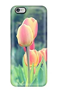 New Diy Design Easter Tulips For iphone 5/5s Cases Comfortable For Lovers And Friends For Christmas Gifts