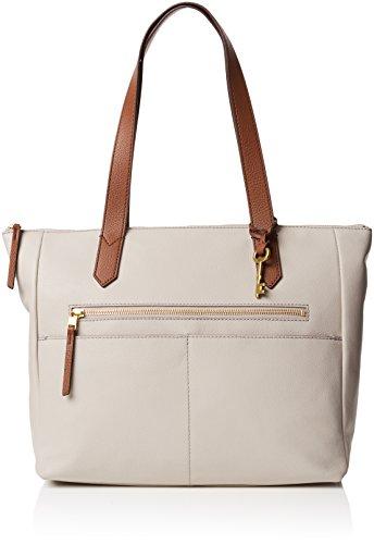 Fossil - Damentasche? Fiona Ew Shopper, Borse Tote Donna Grigio (Mineral Grey)