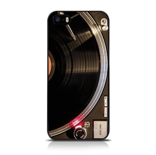 Call Candy vous Spin Me droit rond image Coque arrière pour iPhone 5S–Noir/Rouge/Gris