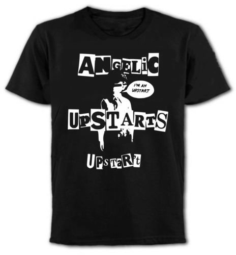 Angelic Upstarts T-Shirt, Punk Rock, Oi, New Wave, All Sizes & Colours (L)