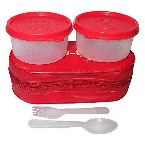 Milton Bon Bon Lunch Box, Red