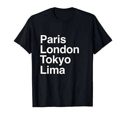Halloween Costumes Lima Peru (Paris Tokyo London Lima Gift Design Lima Souvenir)