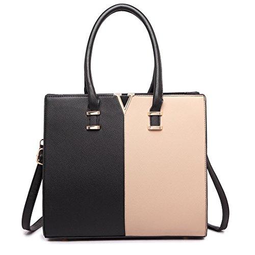 amp;lbn Handbag A4 Lulu Bags Miss Size Bk Handbags Great Shoulder Large Women 1666 Tote wS4wRqCn
