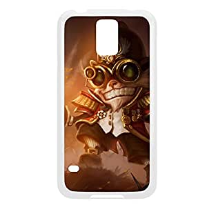Ziggs-002 League of Legends LoL case cover Samsung Galaxy Note4 - Plastic White