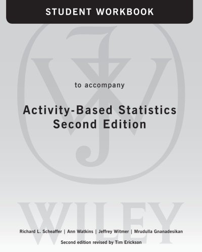 Activity-Based Statistics, Student Guide
