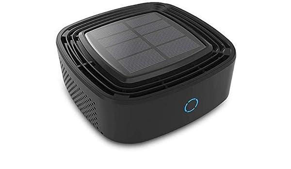XYNB Purificador de Aire Solar para automóvil, purificador de Aire para automóvil además del Olor a formaldehído: Amazon.es: Hogar
