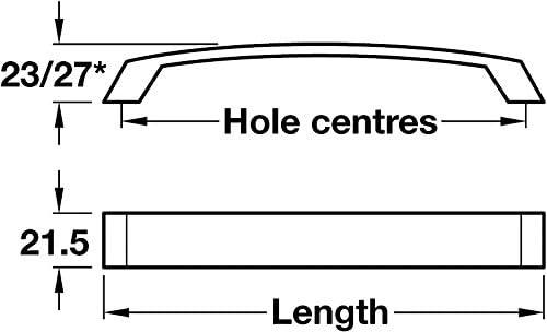 Turin Bow Handle For Kitchen//Bedroom//Cabinet//Door//Cupboard//Drawe Handle