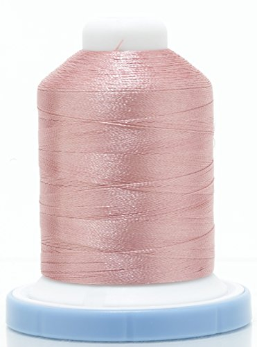 Roses Machine Embroidery Designs - OPW Machine Embroidery Thread with Matching Bobbin (DUSTY ROSE) - Free Bonus Embroidery Designs.