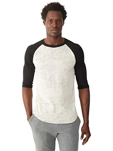 Alternative Mens Big League Burnout Baseball T-Shirt X-Large