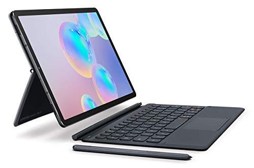 Samsung Galaxy Tab S6 10.5″, 128GB WiFi Tablet Mountain Gray – SM-T860NZAAXAR (Renewed)