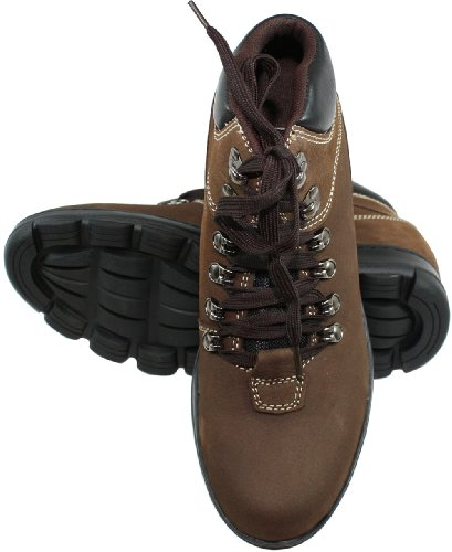 3 Boots K228112 Elevator Brown CALDEN Taller up Shoes Inches Lace Height Increasing qgx5Px