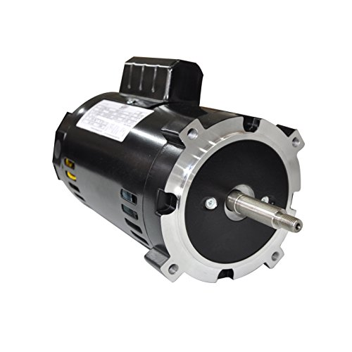 (GW YC4822-J1 General Purpose Drip-Proof C Face Pump Motor, 1 Phase, S56C Frame, Round Mounting, 1/2HP, 3600 RPM, 115/208-230V Voltage, Capacitor Start)