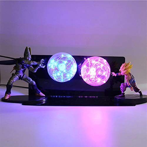 KAKALIN Dragon Ball Z Gohan & Cell Power Up Led Light Lamp Action Figure Whole Set ()