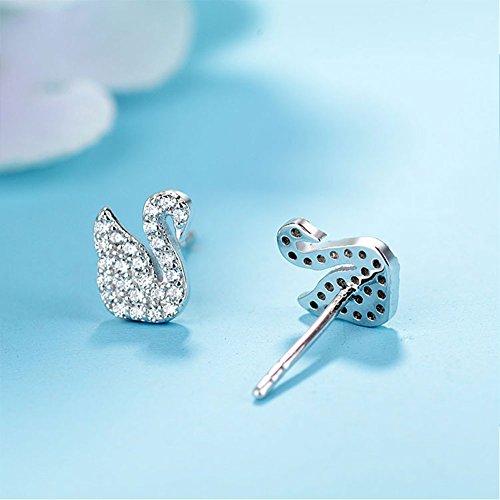 Yoome Perle dacqua dolce Ciondolo Collana delicata e orecchini Set S925 Collana in argento sterling Anniversario Donna per i regali