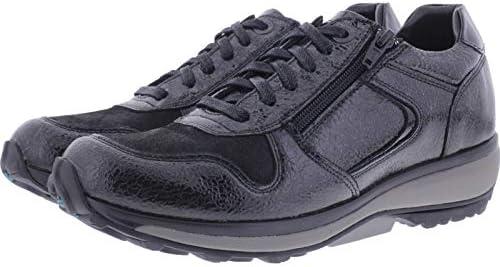 XSENSIBLE Stretchwalker/Modell: Jersey/Black Crash Lackleder/Art: 300422-095 / Damen Sneakers