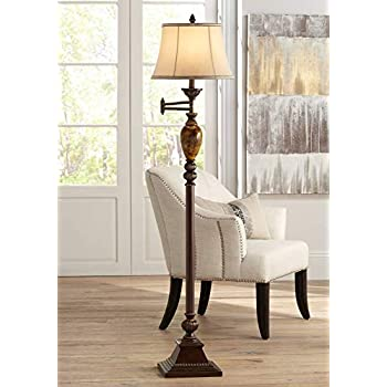 Kathy Ireland Mulholland 61 Quot High Swing Arm Floor Lamp