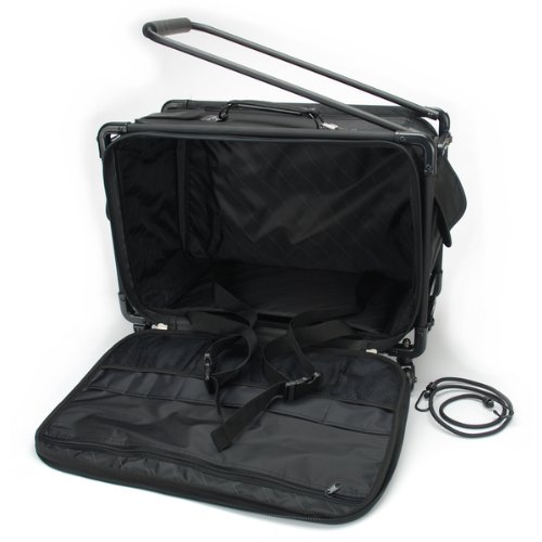 TUTTO Machine On Wheels Case 21''X13-1/4''X12''-Black by Tutto