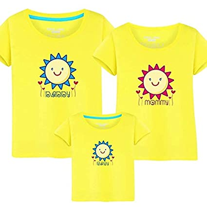 50d7d2568f Plus Size Family Matching Outfits Father Mother Daughter Son Clothes Look T-Shirt  Daddy Mommy