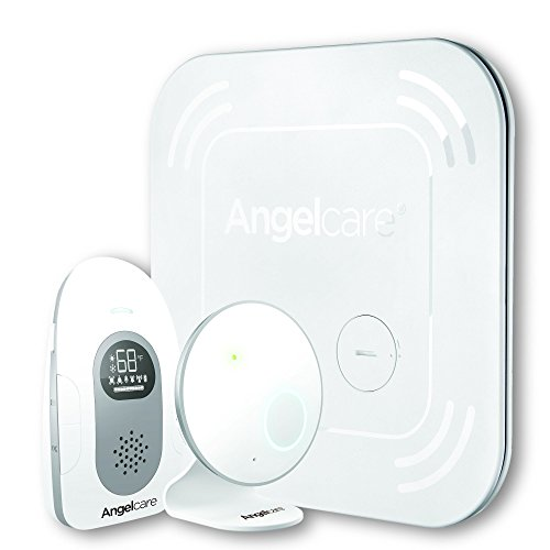 Angelcare Sound and Movement Monitor, White, 117 by Angelcare