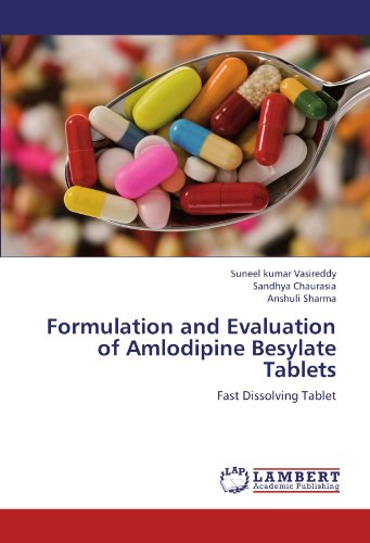 Formulation And Evaluation Of Amlodipine Besylate Tablets  Fast Dissolving Tablet