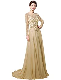 Amazon Formal Evening Dresses Champagne