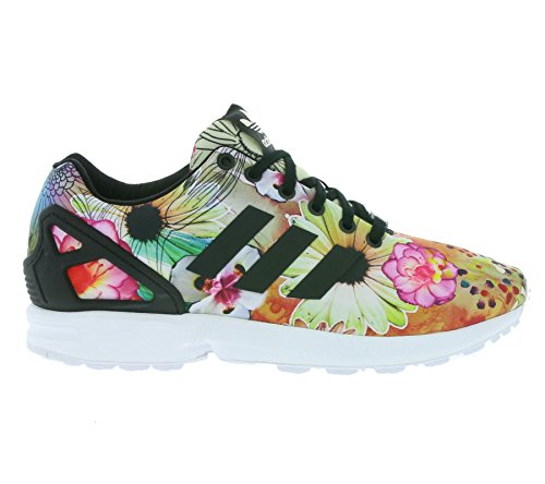Originals adidas Ftwr Core Flux Black Zapatillas para mujer ZX Core Black White Tqawq4d