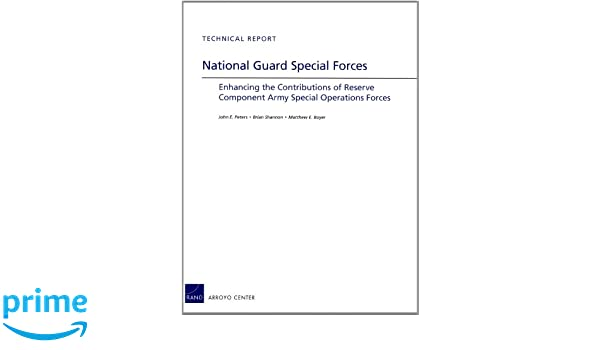 Amazon com: National Guard Special Forces: Enhancing the