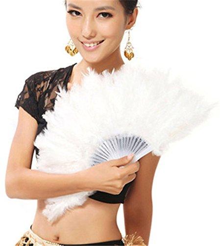 hand feather fan - 3