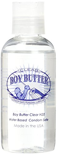 Boy Butter Clear Formula (4 Oz. Squeeze Bottle), Personal Lubricant