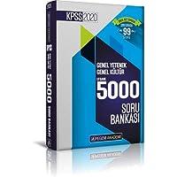 2020 KPSS Genel Yetenek Genel Kültür Efsane 5000 Soru Bankası