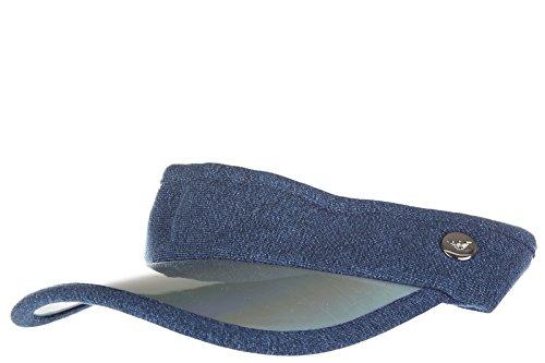 Emporio Armani EA7 women's visor cap hat golf tennis original train gym lux blu US size UNI 285429 7P830 00535 by Emporio Armani