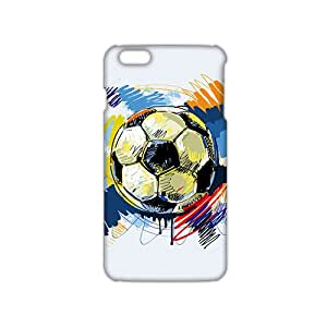 Football Vector Diagram 3D Phone Case for iPhone 6