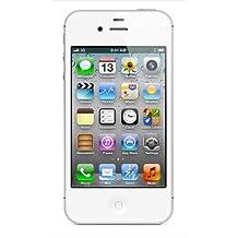 Apple iPhone 4S 8GB Factory Unlocked GSM Cell Phone w/ Siri - White