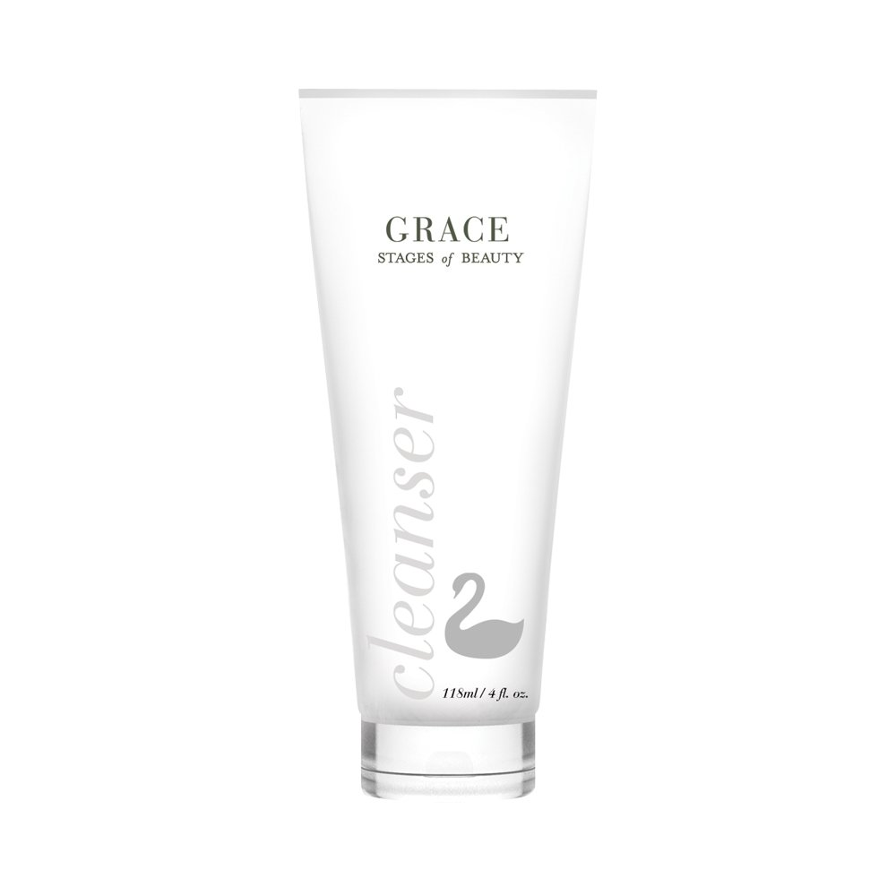 Grace Facial Cleanser, Anti-Aging Skin Care, Fight Fine Lines and Wrinkles, Remove Dirt, Oils, and Makeup, Hydrate the Skin, Stages of Beauty, 120mL