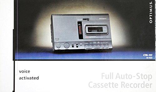 Optimus CTR-117 (Radio Shack 14-1123) Desktop Cassette Recorder