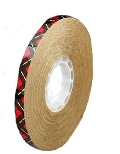 3M ATG Adhesive Transfer Tape 924 Clear, 0.25 in x 36 yd 2.0 mil (Pack of 1) from 3M