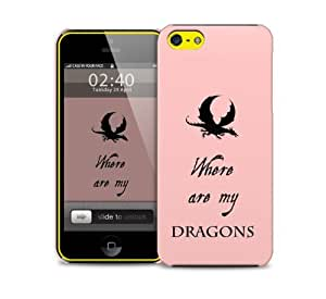 got where are my dragons iPhone 5c protective phone case