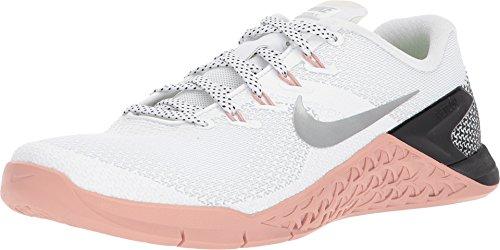Nike Women's Metcon 4 Training Shoes (8, Gunsmoke/White-M)