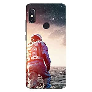 Cover It Up - Space Water Walk Redmi Note 5 Pro Hard Case