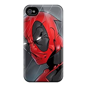 Apple Iphone 5/5s Cem3184SCiz Unique Design Attractive Deadpool I4 Skin Scratch Resistant Cell-phone Hard Cover -