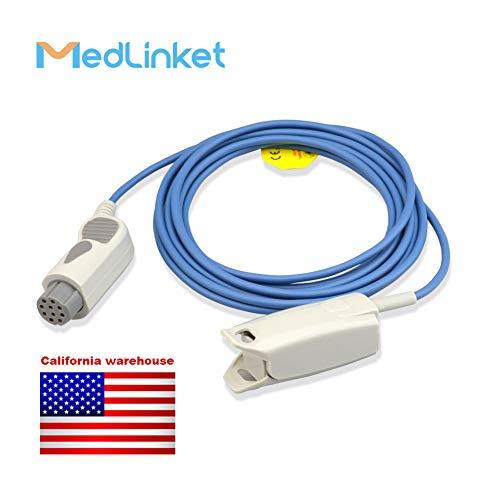 - Datex Ohmeda OXY-F4-N Compatible Reusable SpO2 Adult Finger Clip Sensor, 3M