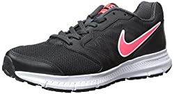 Nike Womens Downshifter Running Shoe (6.5, Blackhyper Punchanthracite)