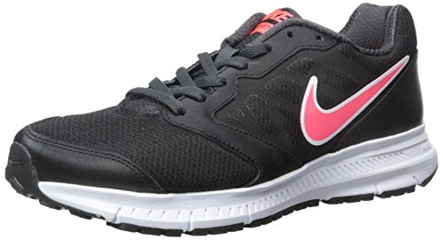 Nike Women's Downshifter 6 Black/Hyper Punch/Anthracite Running Shoe 9.5 Women US