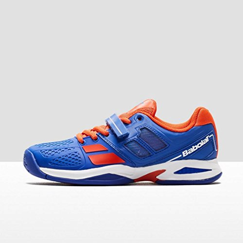 Babolat Junior Propulse All Court Tennis Shoes (Blue/Red)
