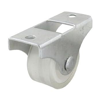 eDealMax a11101700ux0270 Roller Armario puerta del armario Armario de puerta 1 pulgada Dia de goma sola
