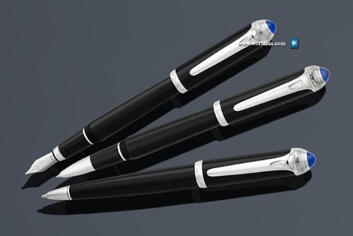 [Cartier ball point pen] Santos de サントスボールペン get the impression a classic  than the luxury brand Cartier. Symbolized the Cartier screw is designed ...